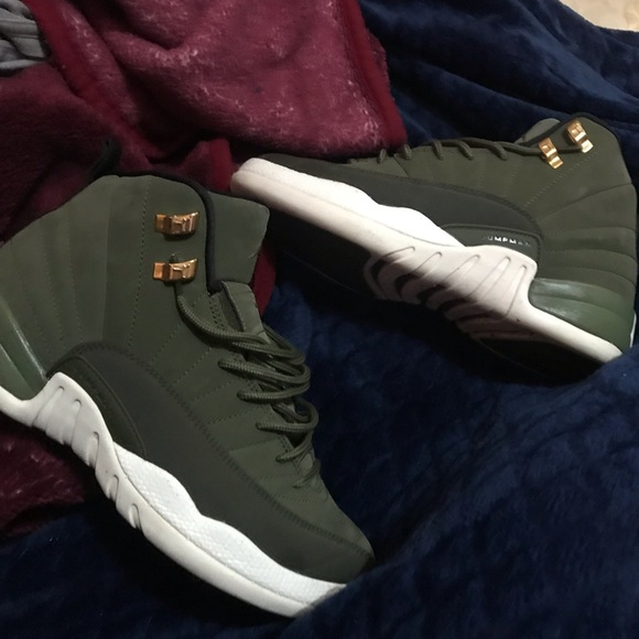 Jordan Shoes | Olive Green Jordan 2s
